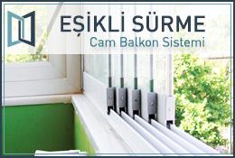 Eşikli Sürme Cam Balkon Sistemi
