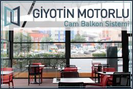 Giyotin Motorlu Cam Balkon Sistemi