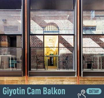 Giyotin Cam Balkon Sistemi